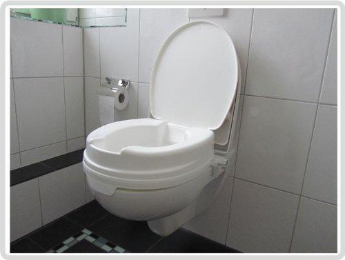 Toilettensitzerhöher Relaxon Basic mit Deckel Test