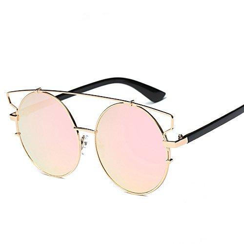 VENMO 2017 Moda Gafas Vintage Unisex Aviador Espejo Lente Gafas de Sol