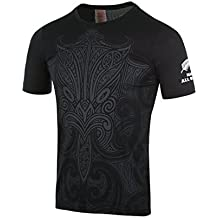 NEW ZEALAND Maorí All Blacks 2016Kids Graphic Rugby-Camiseta