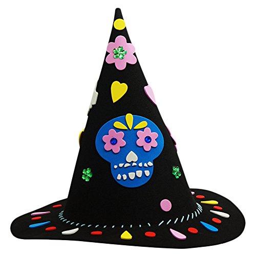 mann Partyhüte für Halloween DIY Mottoparty Dekoration Deko Haus Handarbeit Eltern Kind Interaktion Kinder Geburtstag EVA (Einfach Zu Hause Machen Halloween Dekoration)