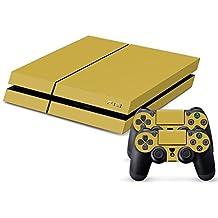 PlayStation 4 - Kit de skins (fundas adhesivas) para consola + 2 mandos de control – Skull Old