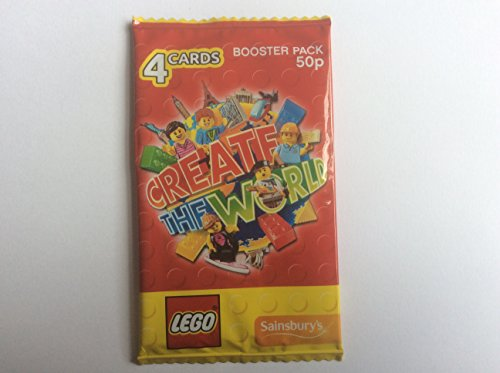 20-lego-create-the-world-cards-booster-pack-for-sainsburys-collectors-album-5-packs-of-4