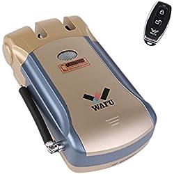 Seguridad inalámbrica invisible de entrada sin llave mando a distancia Home Smart Lock