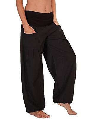 Leucht-Welten Pumphose, Pocket-Hose mit Taschen, Baumwolle