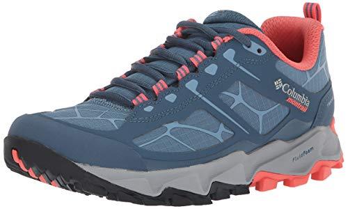 COLUMBIA Scarpe da Trail Running da Donna, TRANS ALPS II, Grigio (Steel, Melonade), Taglia: 40 1/2