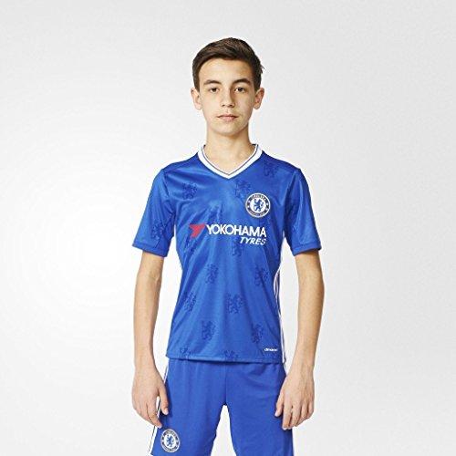 20162017Chelsea FC Diego Costa Cesc Fabregas Eden Hazard Home Jersey de fútbol en azul para los jóvenes Nueva Temporada Para Niños Kid, Infantil, azul, extra-large