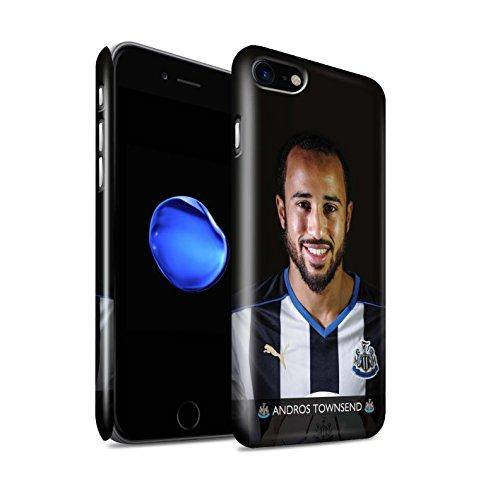 Officiel Newcastle United FC Coque / Clipser Brillant Etui pour Apple iPhone 7 / Elliot Design / NUFC Joueur Football 15/16 Collection Townsend
