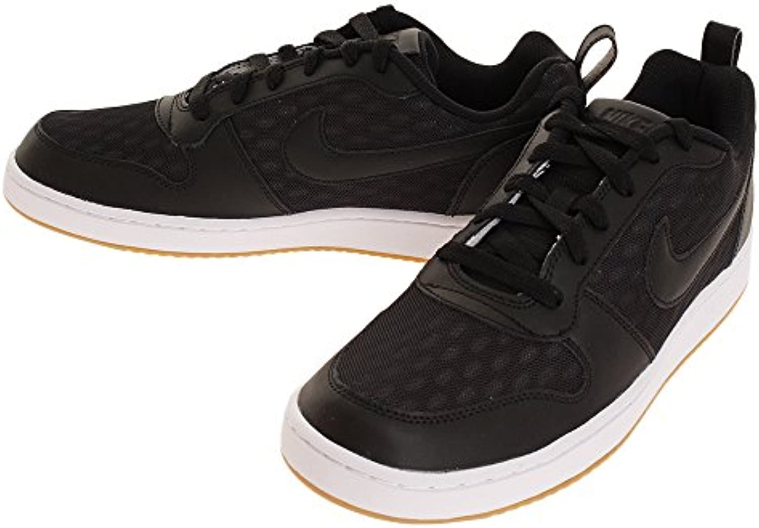 Nike Nike Court Borough Low Se   black/black white gum light br  Größe:10