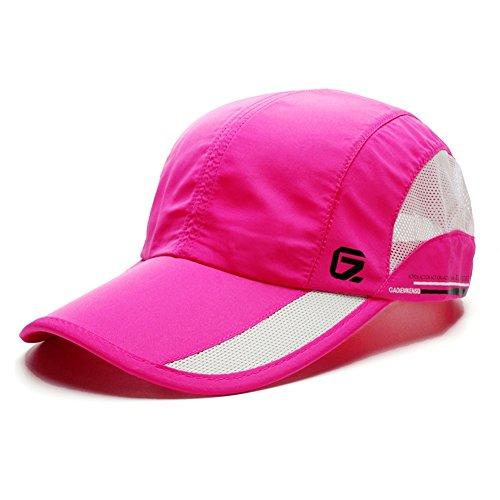 GADIEMENSS Quick Drying Breathable Hat Outdoor Cap (Red)