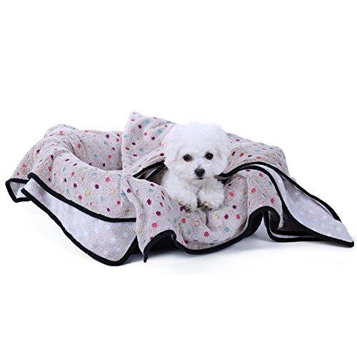 Flauschige Hundedecke in drei Farben und drei Größen erhältlich - 4