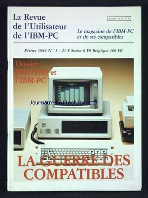 IBM PC [No 1] du 01/02/1984 par COLLECTIF