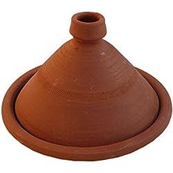 Tajine marroquí Kasbah para cocinar no esmaltado Ø 35 cm para 3-5 personas