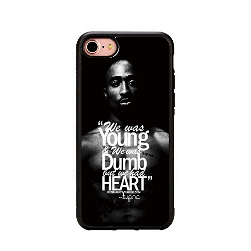 Friendship boat Tupac Shakur 2Pac Iphone 7 Case,Tupac Shakur Phone Case for  Iphone 7 4 7 inches TPU Case