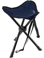 taburetes, taburete portatil de tres patas ligero y plegable para acampadas, pesca, picnics,eventos deportivos senderismo