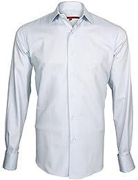 chemise mousquetaire sunrise bleu