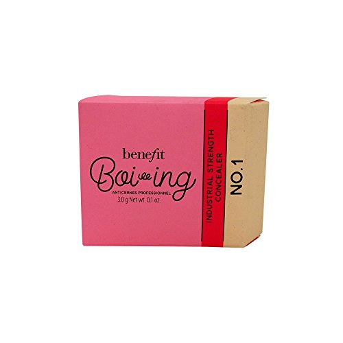 BENEFIT COSMETICS Boi-ing 01 Light - for fair complexions 3.0 g Net wt. 0.1 oz BOXED