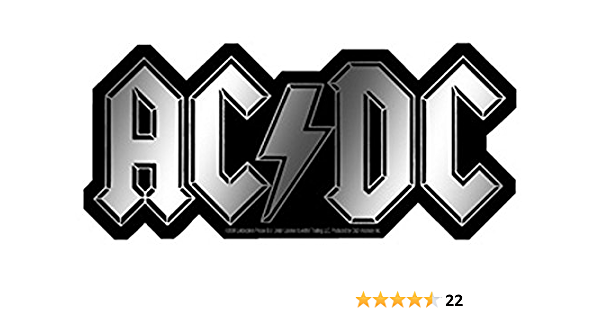 Ac Dc Aufkleber Chrome Band Musik Metal Sticker Auto