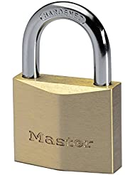 Master Lock 2840EURD Cadenas laiton Haute sécurité 40 mm