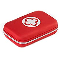 Preisvergleich für Erste Hilfe Set, Leer Erste-Hilfe-Koffer Notfalltasche Medizinisch Tasche Wasserdicht Tragbar Klein und Leicht...