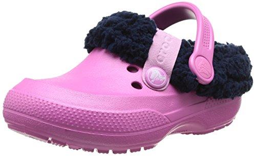 Crocs Blitzen II Clog K, Sabots mixte enfant Rose (Party Pink/Nautical Navy)