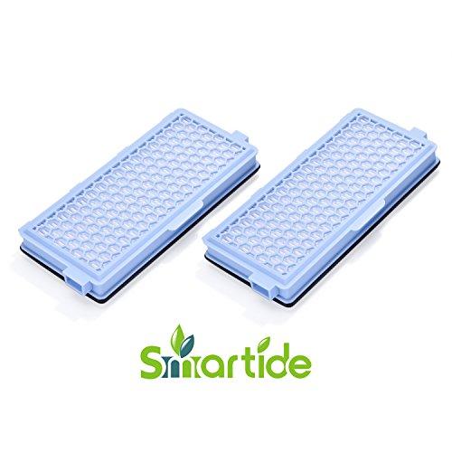 Smartide Aktive Filter HEPA SF-HA 50 AirClean Staubsauger Filter für Miele S4 S5 S6 und S4000 S5000 S6000 S8000 (2 Stück)