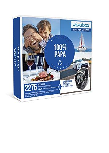 Vivabox - 100% PAPA - 2275 activités : pilotage, repas ... + 1 montre de sport