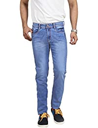 Poly Cotton Lycra Slim Fit Stretchable MENS DENY By Uber Urban