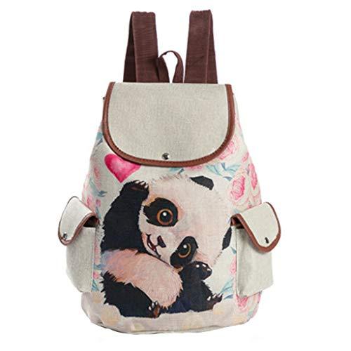 Altsommer Rucksack, 2019 Neue Nette Karikatur Panda Druck Beutel Kursteilnehmer Schulrucksack Spielraum Rucksack für Match Kleidung Einkaufen Handtaschen und Taschen Schulranzen Damentasche Htc Panda