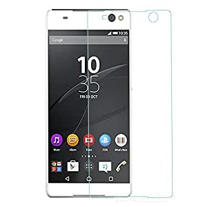 SNOOGG Sony Xperia C5 Ultra Tempered Glass Screen Guard / Screen Protector ExPLLosion Proof