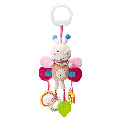 Outflower Baby Spielzeug Ab 0 Monaten - Babyhandkurbel - Karikaturtier - Zum Aufziehen Und Montieren Am Kinderbett - Baby Mobiles