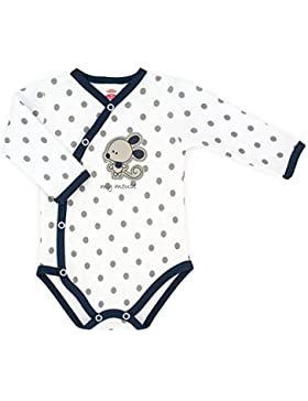 Baby-Mode Mädchen Wickelbody Langarm -Kollektion Mouse 03115- (56 - 68)