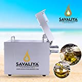 Savaliya Industries SI-602 Fully Automatic Stainless Steel Press Oil Maker Machine (Silver)