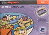 3Com Megahertz 10 Mbps LAN PC Card 3CCE589EC with Combo Dongle Cable