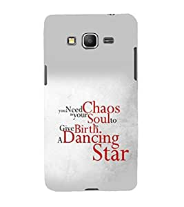 printtech Cool Quotes Dance Back Case Cover for Samsung Galaxy Grand Prime G530h