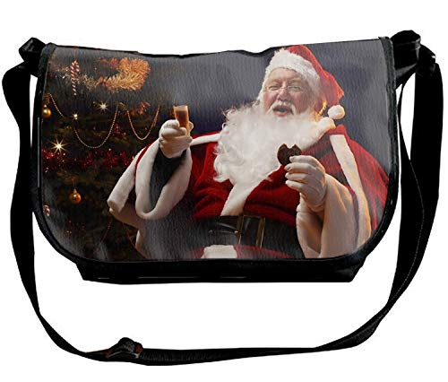 Ruajlt Holiday Halloween Dubstep Custom High-grade Nylon Single Shoulder Slant Sling Bag Cross-body Bag