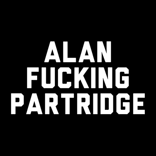 Alan Fucking Partridge Women's Vest Black