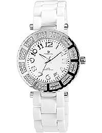 timento Mujer Reloj con plástico pulsera