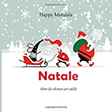 Natale - Libro da colorare per adulti - Happy Mandala
