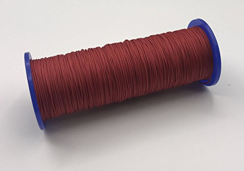 20 Meter Schnur für Plissees 0,8 mm - rot - Plisseeschnur - Spannschnur für Plissee - ps FASTFIX