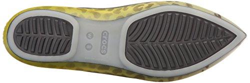 Crocs Rio Leopard Fade W Flat Burst/Graphite