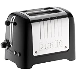 Dualit 26225 Lite Grille-Pain 2 Tranches Noir