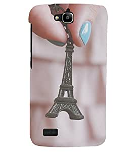 PRINTSHOPPII EIFFEL TOWER PARIS Back Case Cover for Huawei Honor Holly::Honor Holly