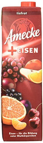 Amecke's Plus Eisen, 6er Pack (6 x 1 l Packung)