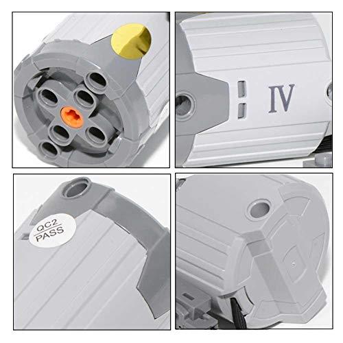 Hifuture XL extragroßer servomotor,Einsteckblöcke, elektrische Maschinenteile, kompatibel mit LEGO 8882