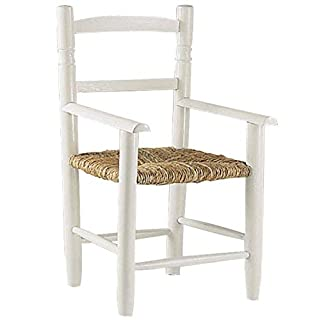 Aubry Gaspard NFE Chair White Lacquered Beech 1260