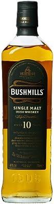 Bushmills 10 Year Old Single Malt Irish Whiskey 70 cl