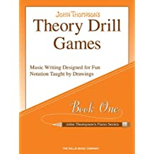 Theory Drill Games, Book One (John Thompson's Piano Series)