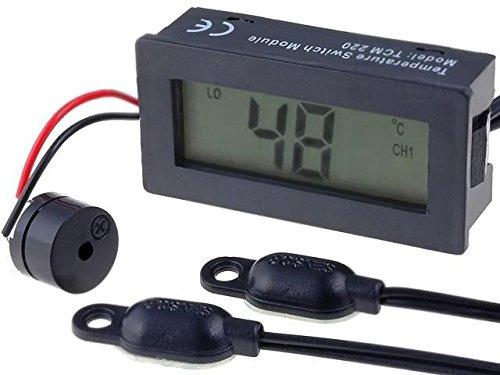 PAN.TSM220 Panel meter LCD 3 digit -30÷69.9°C Resol0,1°C 24x48x15mm Lcd-panel-meter