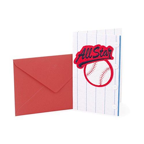 Hallmark Signature Geburtstag Grußkarte für Ihn (Classic Car) Baseball All Star
