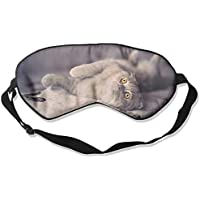 Eye Mask Eyeshade Short Hair Cat Sleep Mask Blindfold Eyepatch Adjustable Head Strap preisvergleich bei billige-tabletten.eu